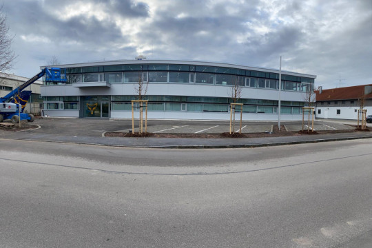 TEST-FUCHS - Nouvel espace pour le site d'Erding