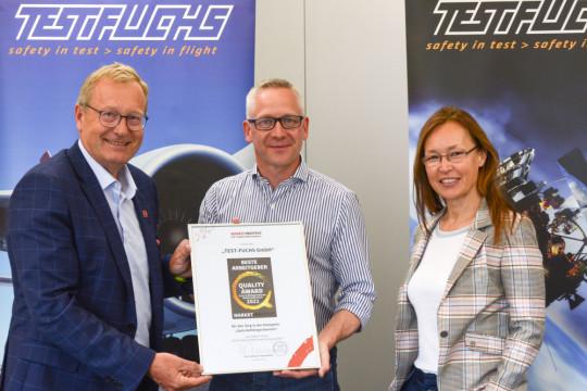 TEST-FUCHS est considérée comme l'entreprise la plus innovante avec les meilleures opportunités d'évolution en Basse-Autriche.