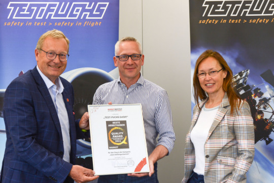 TEST-FUCHS - TEST-FUCHS is considered to be the most innovative company with the best opportunities for advancement in Lower Austria.