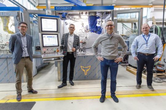 TEST-FUCHS - Test-Fuchs optimizes aerospace test stands