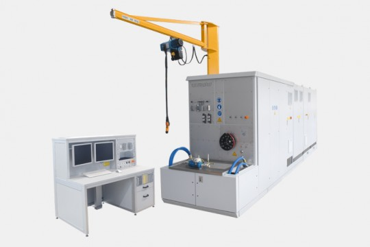 TEST-FUCHS - Generator Test Stand for Indonesia