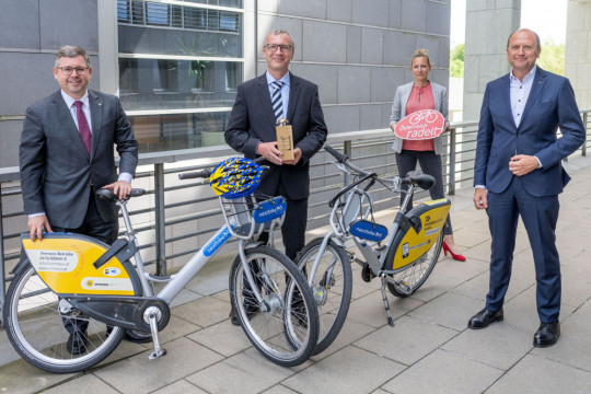 TEST-FUCHS - Test-Fuchs employees are the hardest-working cyclists in Lower Austria