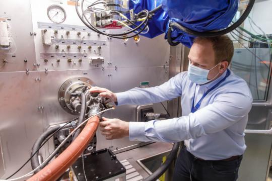 Test-Fuchs optimizes aerospace test stands