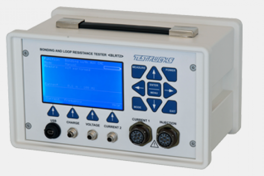 TEST-FUCHS   AIRBUS Certified Bonding und Loop Resistance Tester for A350 ESNBLRT2KIT
