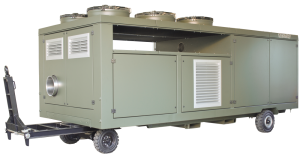Mobile Air Conditioner, Diesel Motor Powered