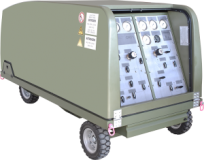 Sauerstoff- und Stickstoffwagen