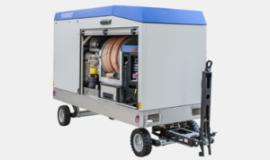 AIRBUS certified Mobile Lavatory Vacuum Blockage Remover